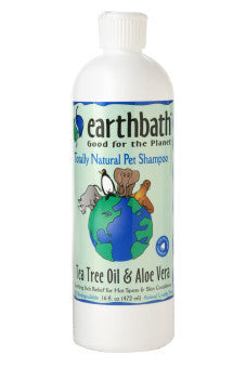 Earthbath Tea Tree Oil & Aloe Shampoo 16oz