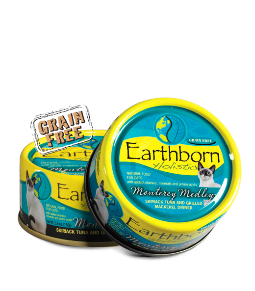 Earthborn Holistic Monterey Medley Grain Free Can Cat Food