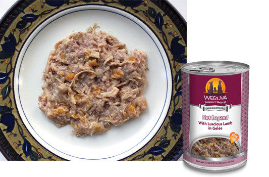 Weruva Hot Dayam Lamb Grain Free Can Dog Food