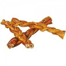 "7"" Braided Bully Stick, USA, Low Odor"