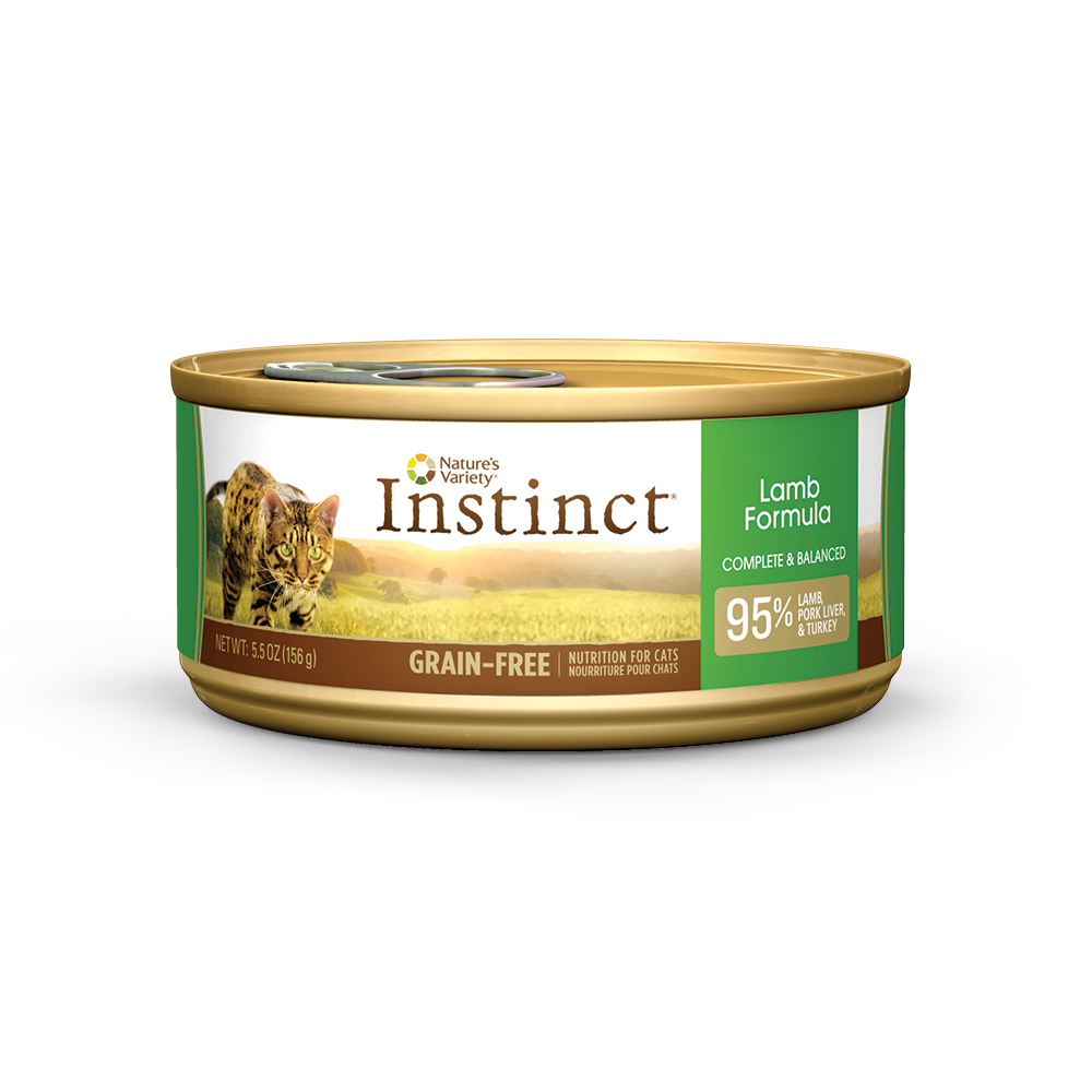 Nature's Variety Instinct Lamb Grain Free Can Cat Food