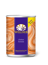 Wellness Chicken Complete Health Grain Free Can Cat Food 12.5oz