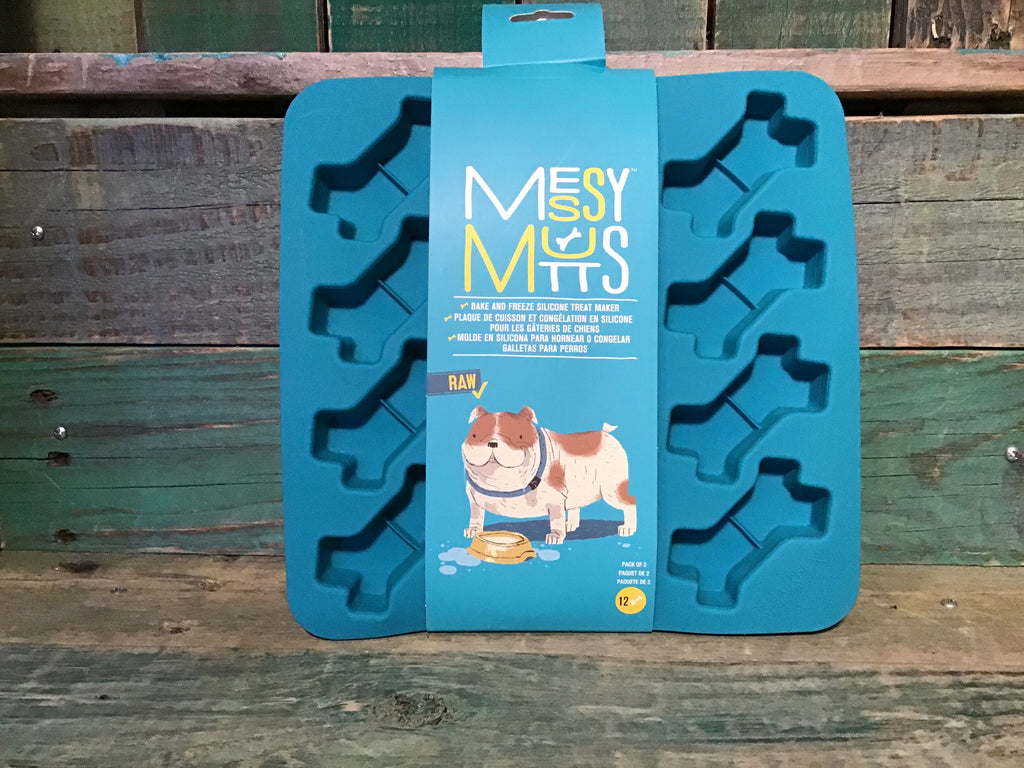 Messy Mutts bake & freeze silicone treat mold