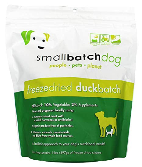 Smallbatch Freeze Dried Duck Sliders 14oz