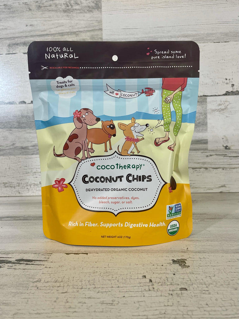 CocoTherapy Coconut Chips 6oz