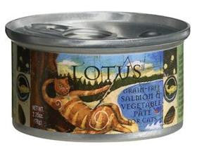 Lotus Salmon Pate Grain Free Canned Cat Food 2.75oz