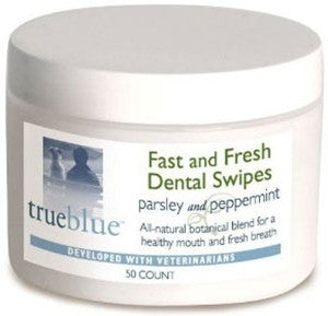 True Blue Fast & Fresh Dental Swipes 50ct