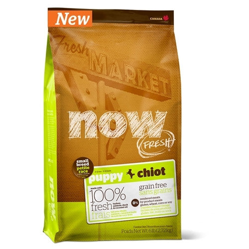 Now Fresh Small Breed Puppy Grain Free Dry Dog Food