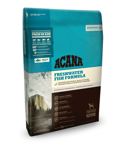 Acana Freshwater Fish Grain Free Dry Dog Food