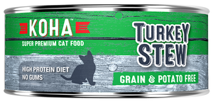 Koha Turkey Stew Canned Cat Food 5.5oz
