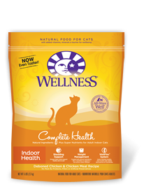 Wellness Complete Indoor Health Chicken Dry Cat Food
