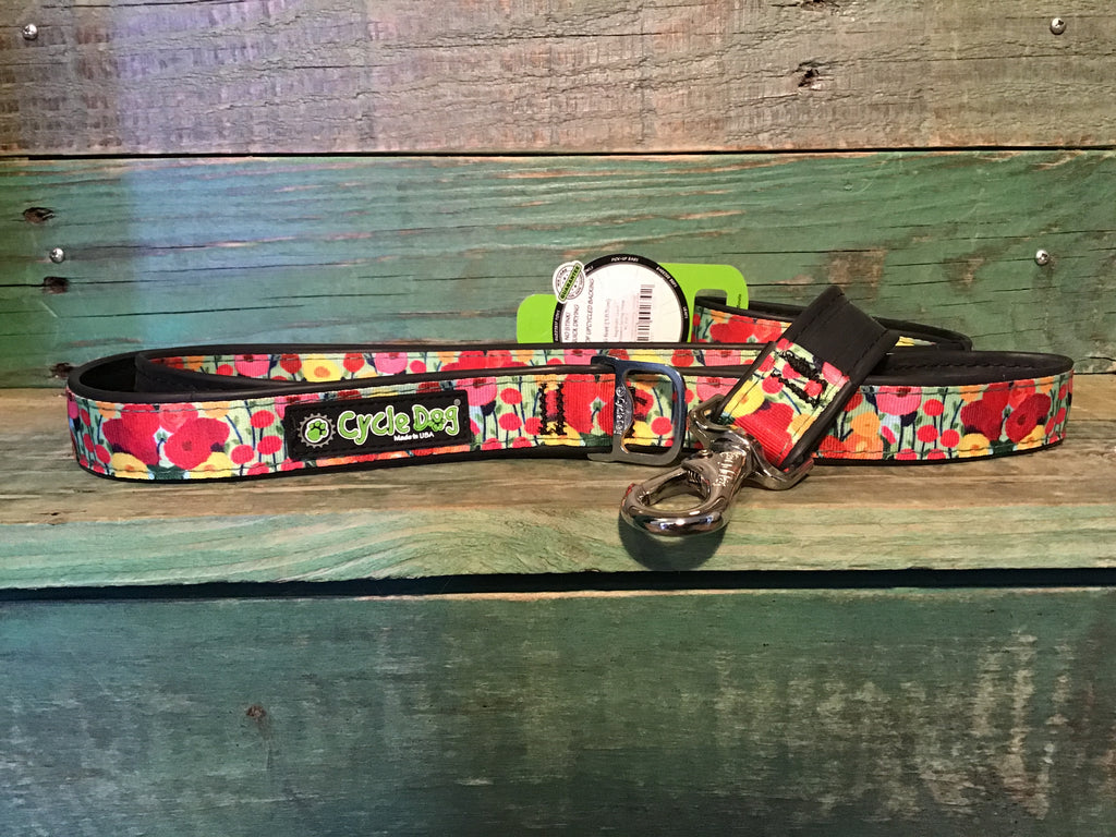 Cycle Dog Flowers Spring Floral Leash 6ft