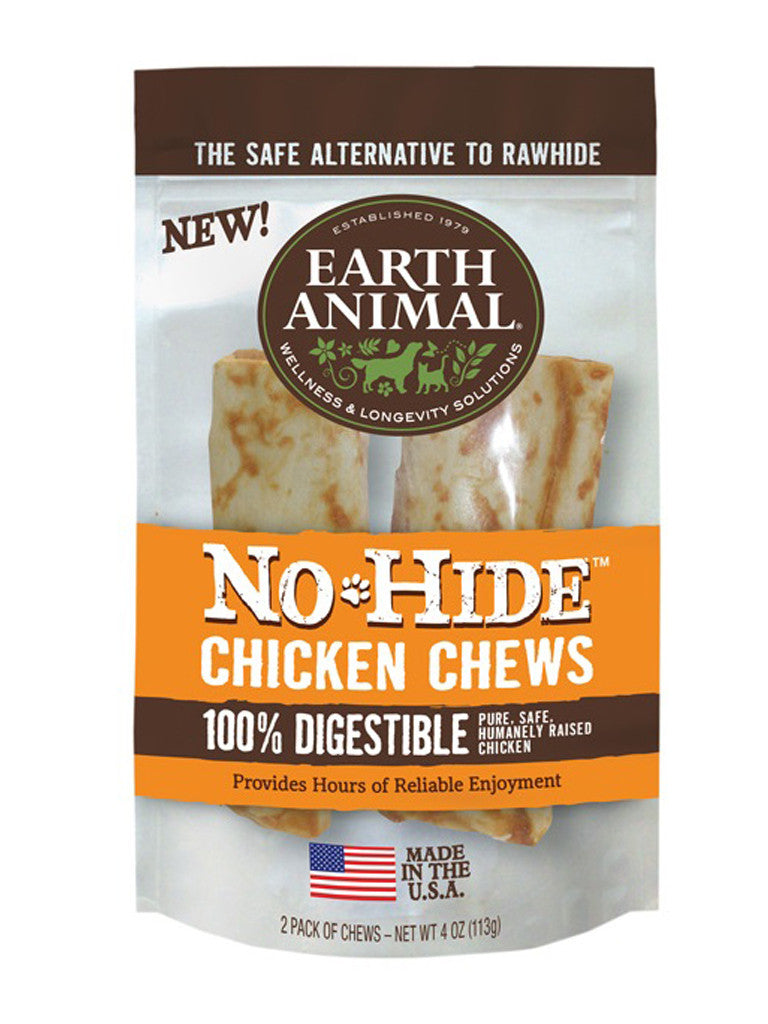 Earth Animal No-Hide Chicken Chew 2 pack