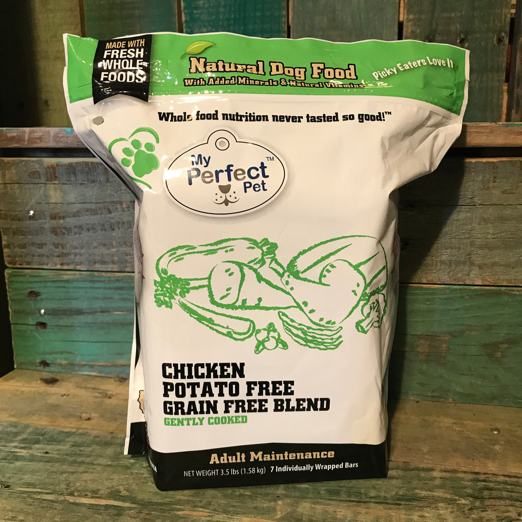 My Perfect Pet Frozen Low Glycemic Chicken Dog Food 3.5lb