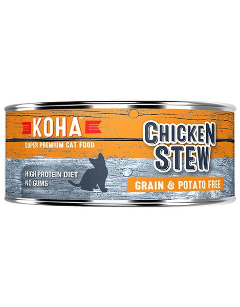 Koha Chicken Stew Canned Cat Food 5.5oz