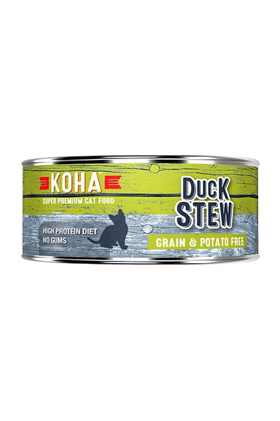 Koha Duck Stew Canned Cat Food 5.5oz