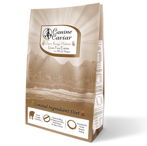 Canine Caviar Open Range Buffalo Dog Food
