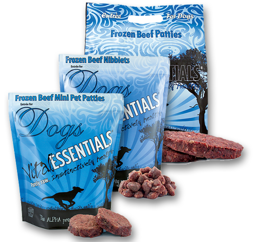 Vital Essential Beef Frozen Raw Dog Food