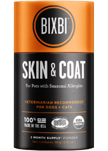 Bixbi Organic Skin & Coat Supplement 60g