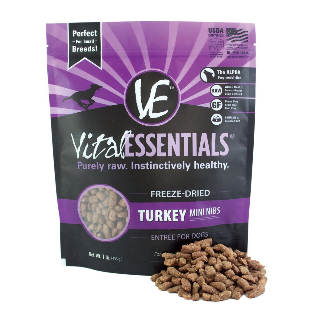 Vital Essentials Turkey Freeze Dried Mini Nibs