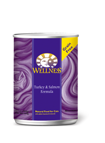 Wellness Turkey & Salmon Complete Health Grain Free Can Cat Food