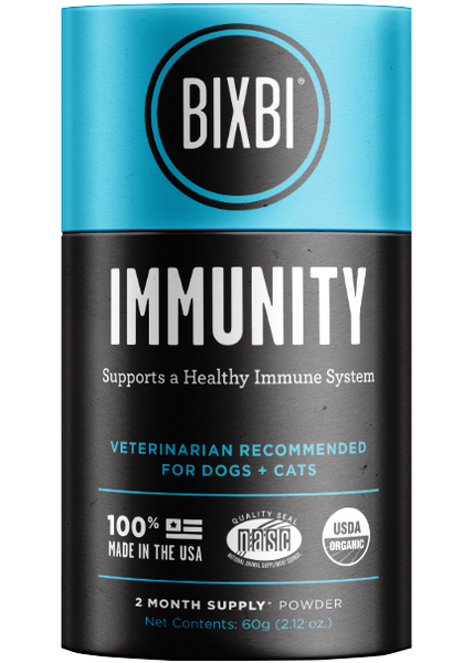 Bixbi Organic Immunity Supplement 60g