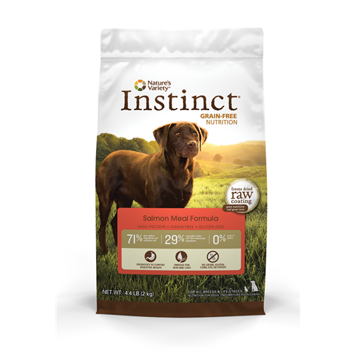 Nature's Variety Instinct Salmon Grain Free Dry Dog Food