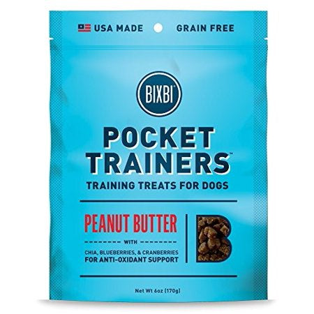 Bixbi Pocket Trainers Peanut Butter 6oz