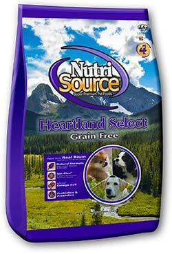NutriSource Heartland Select Grain Free Dry Dog Food