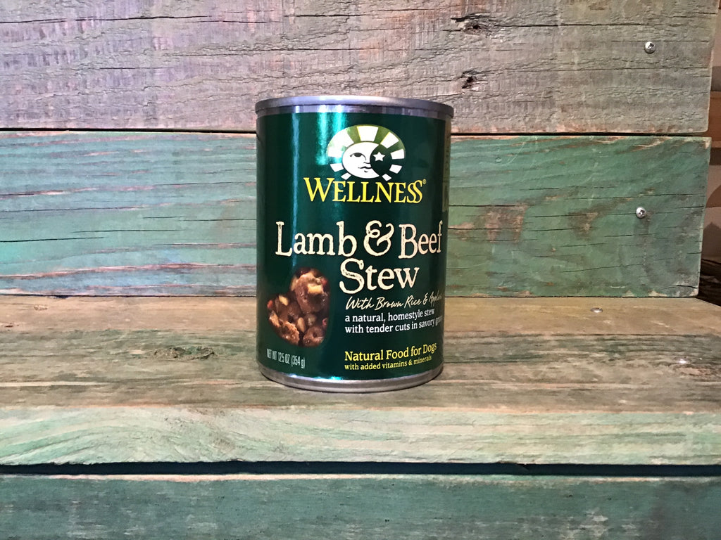 Wellness Lamb & Beef Stew Can Dog Food 12.5oz