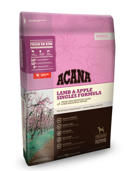 Acana Lamb & Apple Singles Grain Free Dry Dog Food