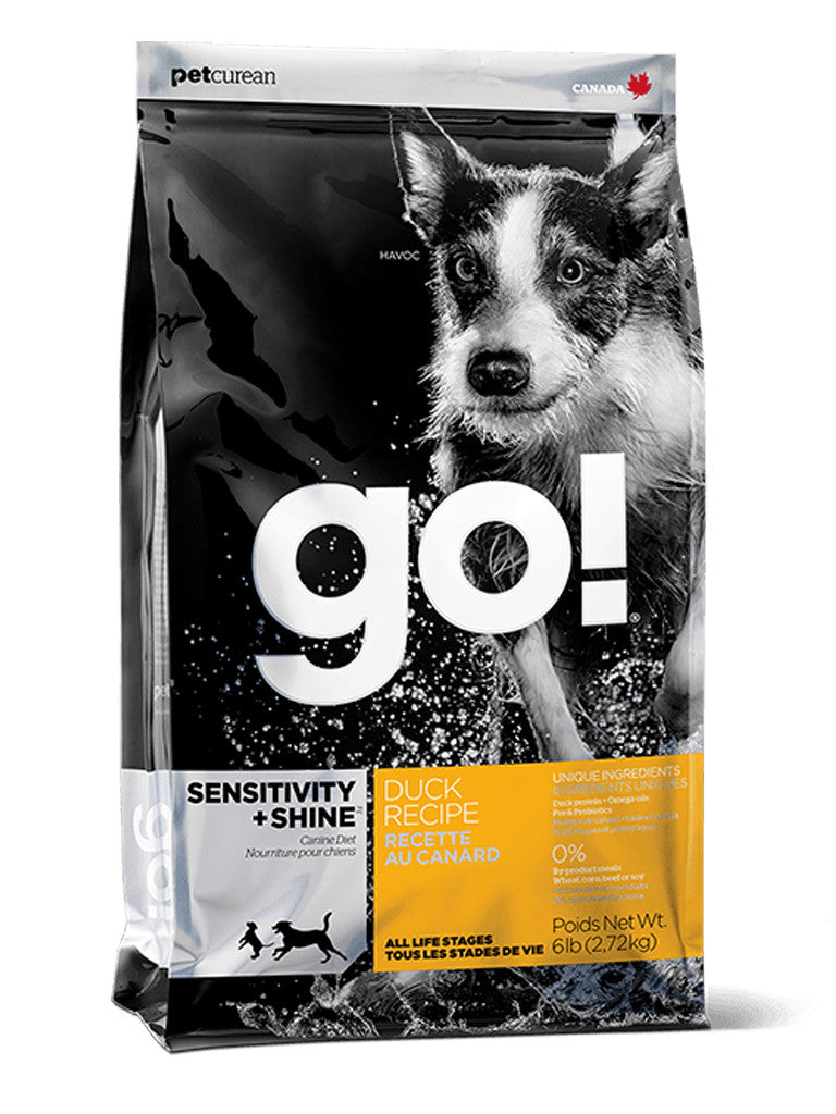 Go! Duck Sensitivity & Shine Dry Dog Food