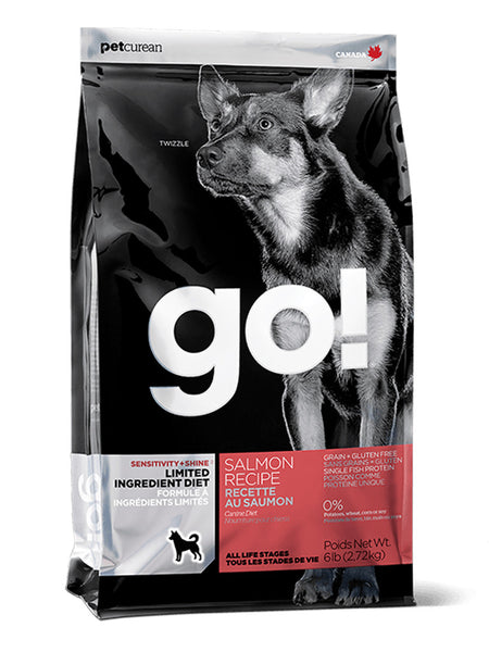 Go! Salmon Sensitivities LID Grain Free Dry Dog Food