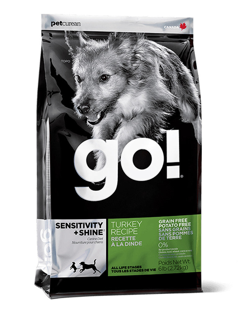 Go! Turkey Sensitivity & Shine Grain Free Dry Dog Food