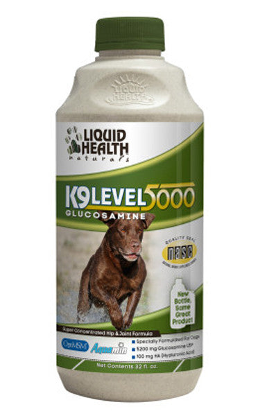 Liquid Health Glucosamine K9 Level 5000 32oz