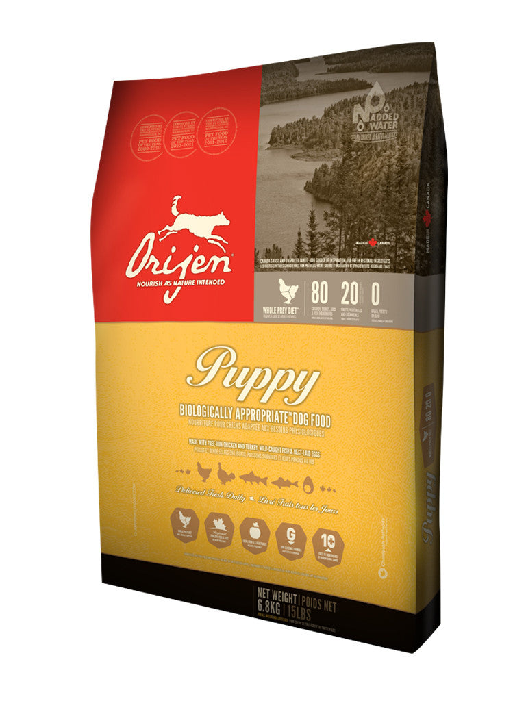 Orijen Puppy Grain Free Dry Dog Food