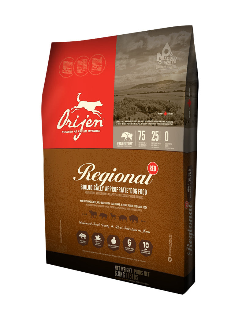 Orijen Regional Red Grain Free Dry Dog Food