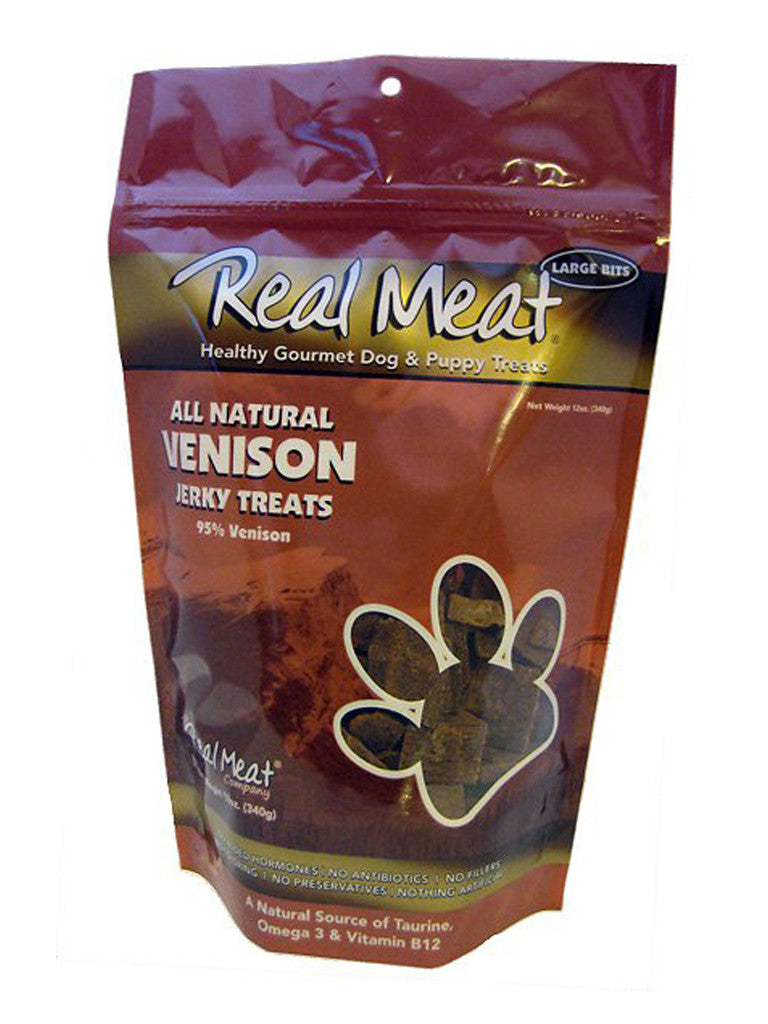 Real Meat Venison Jerky Treats