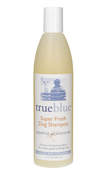True Blue Super Fresh Dog Shampoo 12oz