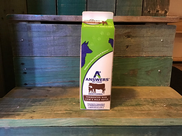 Answers Raw Cow Milk Kefir