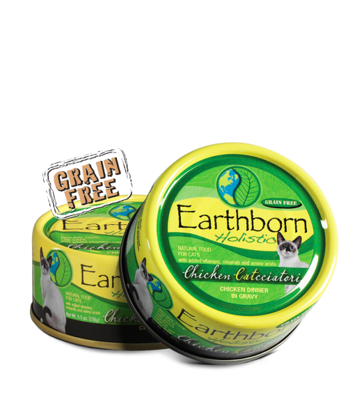 Earthborn Holistic Chicken Catcciatori Grain Free Can Cat Food