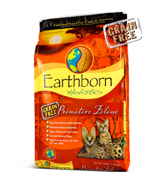 Earthborn Holistic Primitive Feline Grain Free Dry Cat Food
