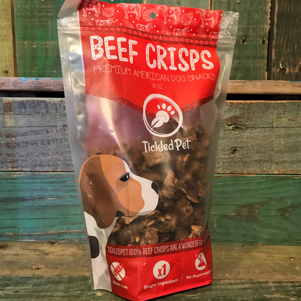 Tickled Pet Beef Crisps