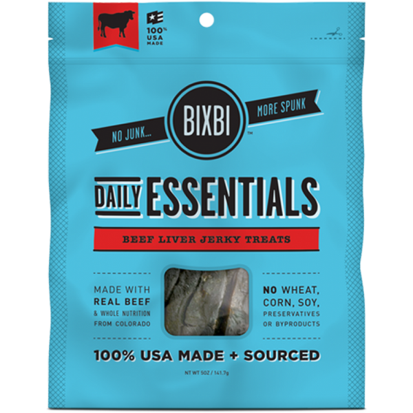Bixbi Beef Daily Essentials Jerky Treats
