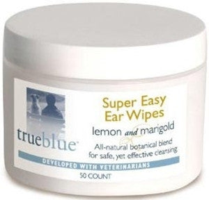 True Blue Super Easy Ear Wipes 50ct