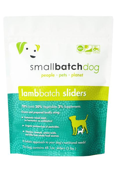 Smallbatch Lamb Frozen Raw Dog Food