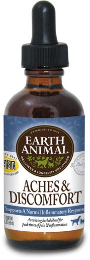 Earth Animal Aches & Discomforts Dog & Cat Supplement 2oz