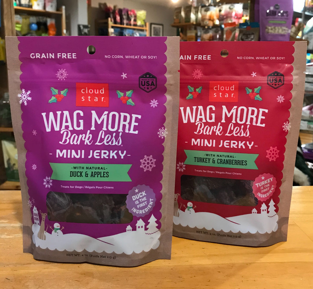 Wag More Bark Less Mini Jerky Holiday