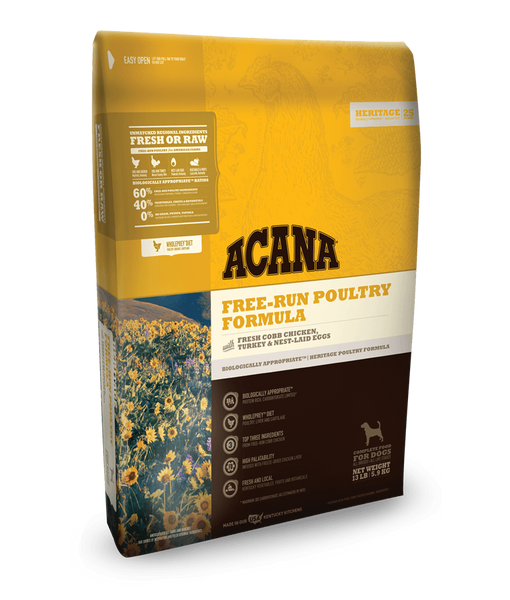 Acana Free-Run Poultry Grain Free Dry Dog Food
