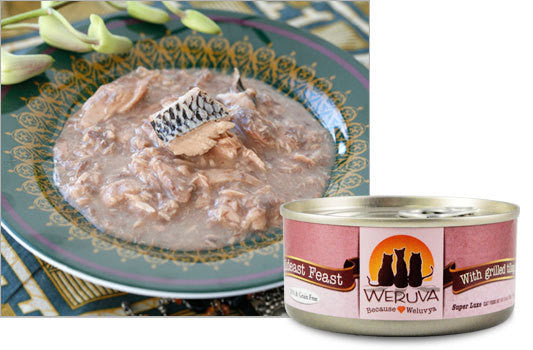 Weruva Mideast Feast Grain Free Can Cat Food